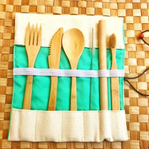 Bamboo Travel Kit