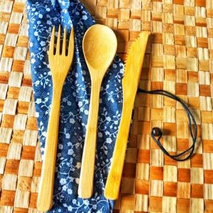 SALE! Bamboo Cutlery Set
