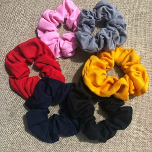 Handmade Cotton Scrunchies