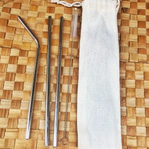 Family Stainless Straw Set